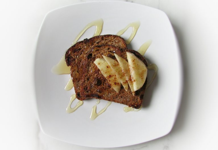 healthy sprouted grain french toast