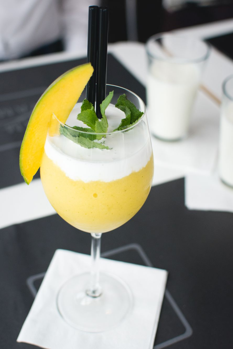 mango bellini recipe