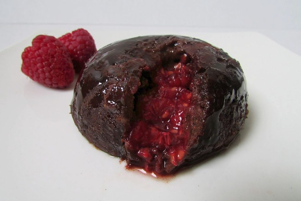 raspberry chocolate lava cake recipe