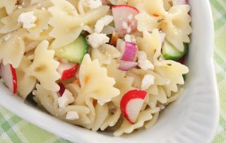 healthy greek yogurt pasta salad recipe