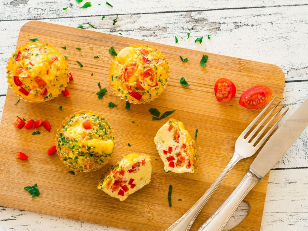 healthy omelet egg muffins recipe