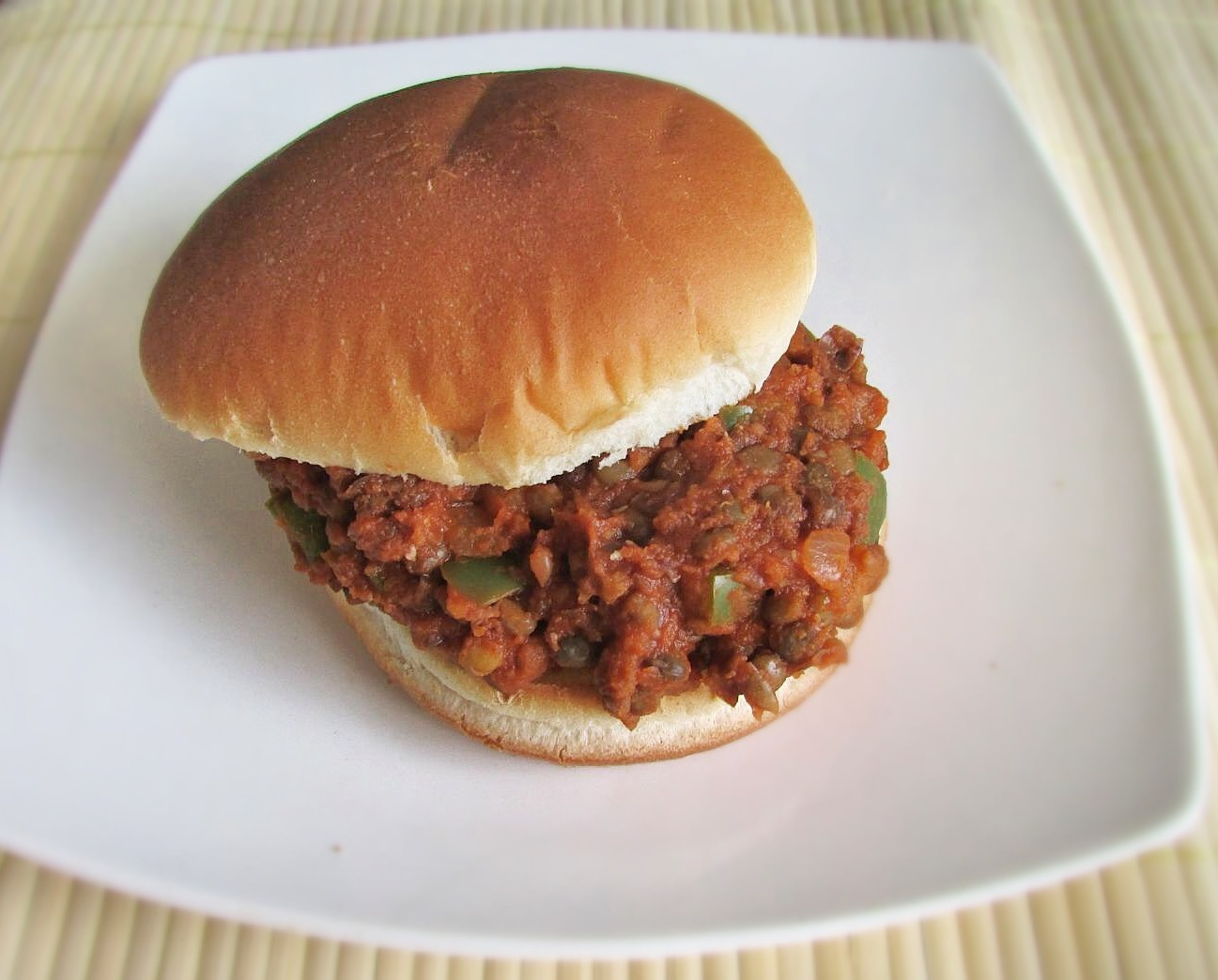 Vegan Lentil Sloppy Joes - The Skinny Chick's Cookbook
