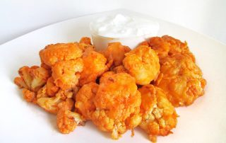 spicy buffalo cauliflower bites recipe