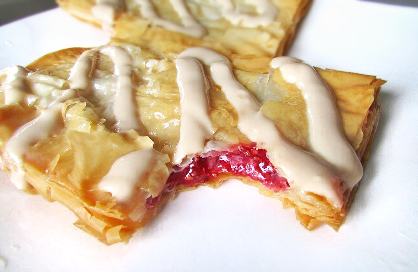 homemade strawberry toaster strudel recipe