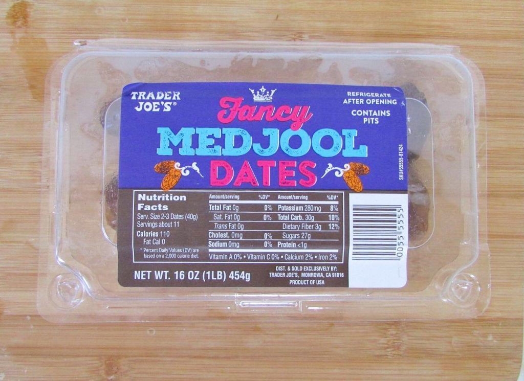 trader joes medjool dates