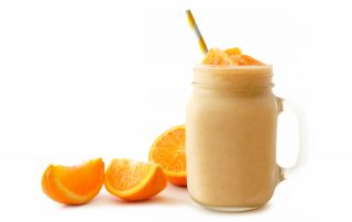 healthy skinny Orange Creamsicle Cocktail