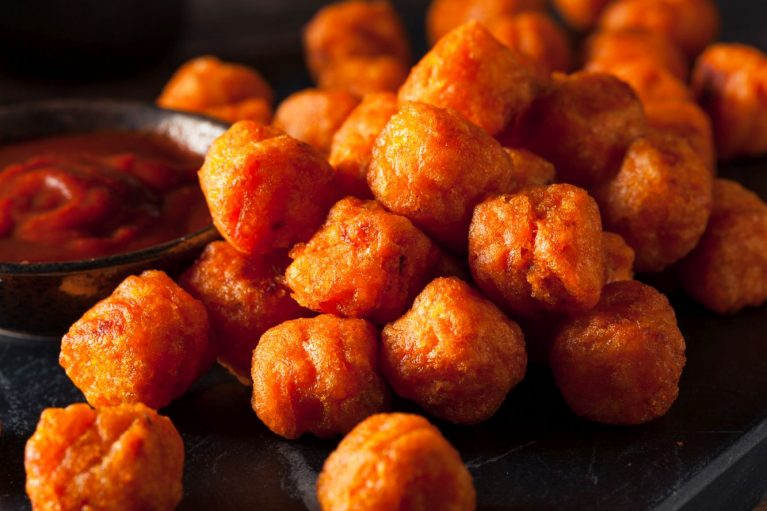 easy healthy sweet potato tots recipe honey mustard