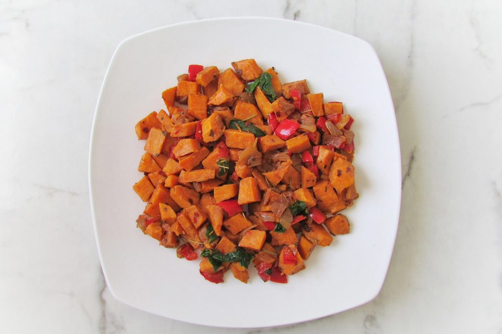 gluten-free sweet potato hash