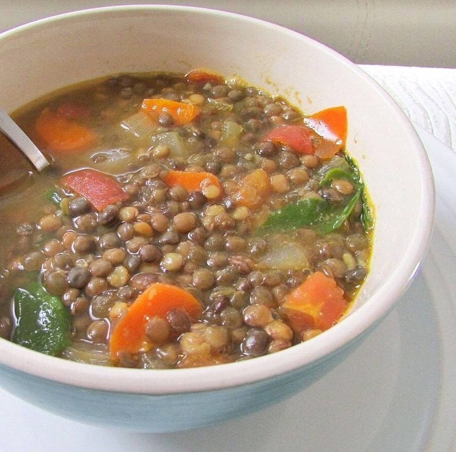 low sodium lentil soup recipe