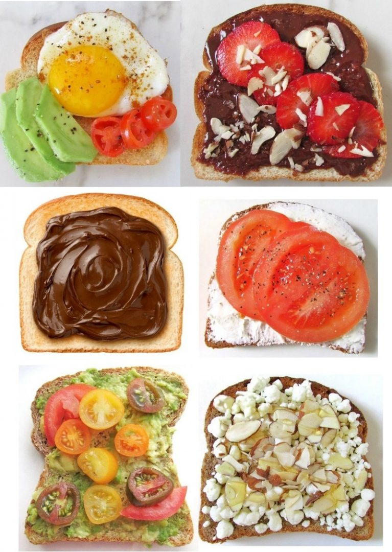 vegetarian breakfast toast recipes