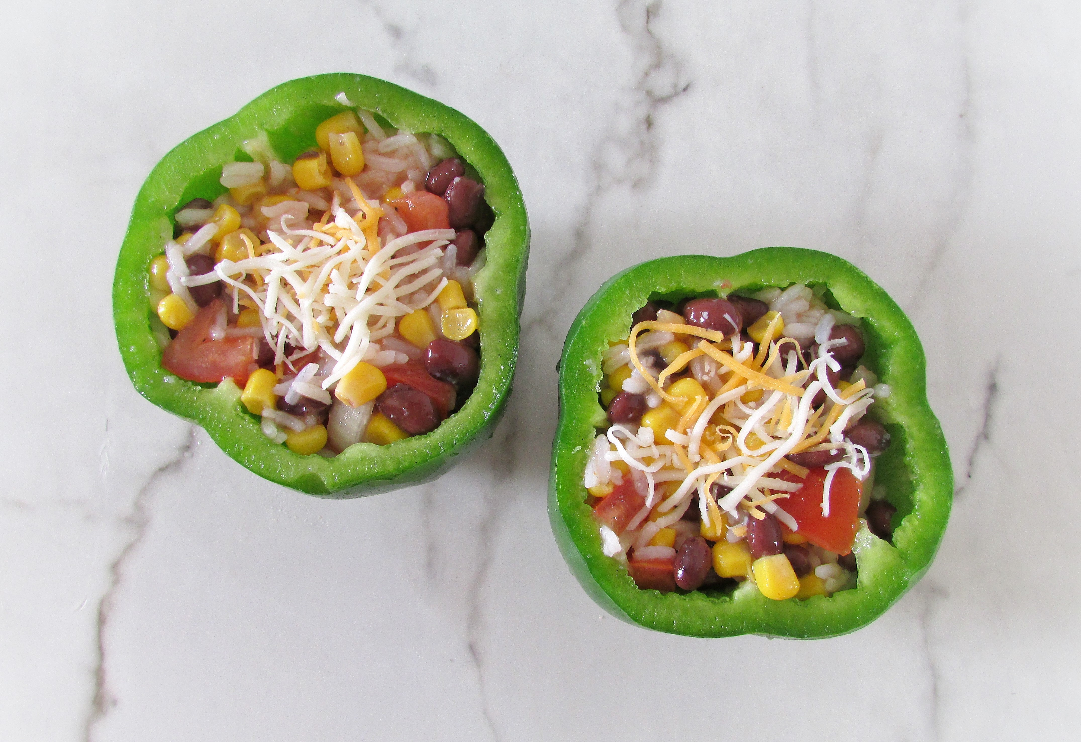 vegan stuffed bell peppers recipe