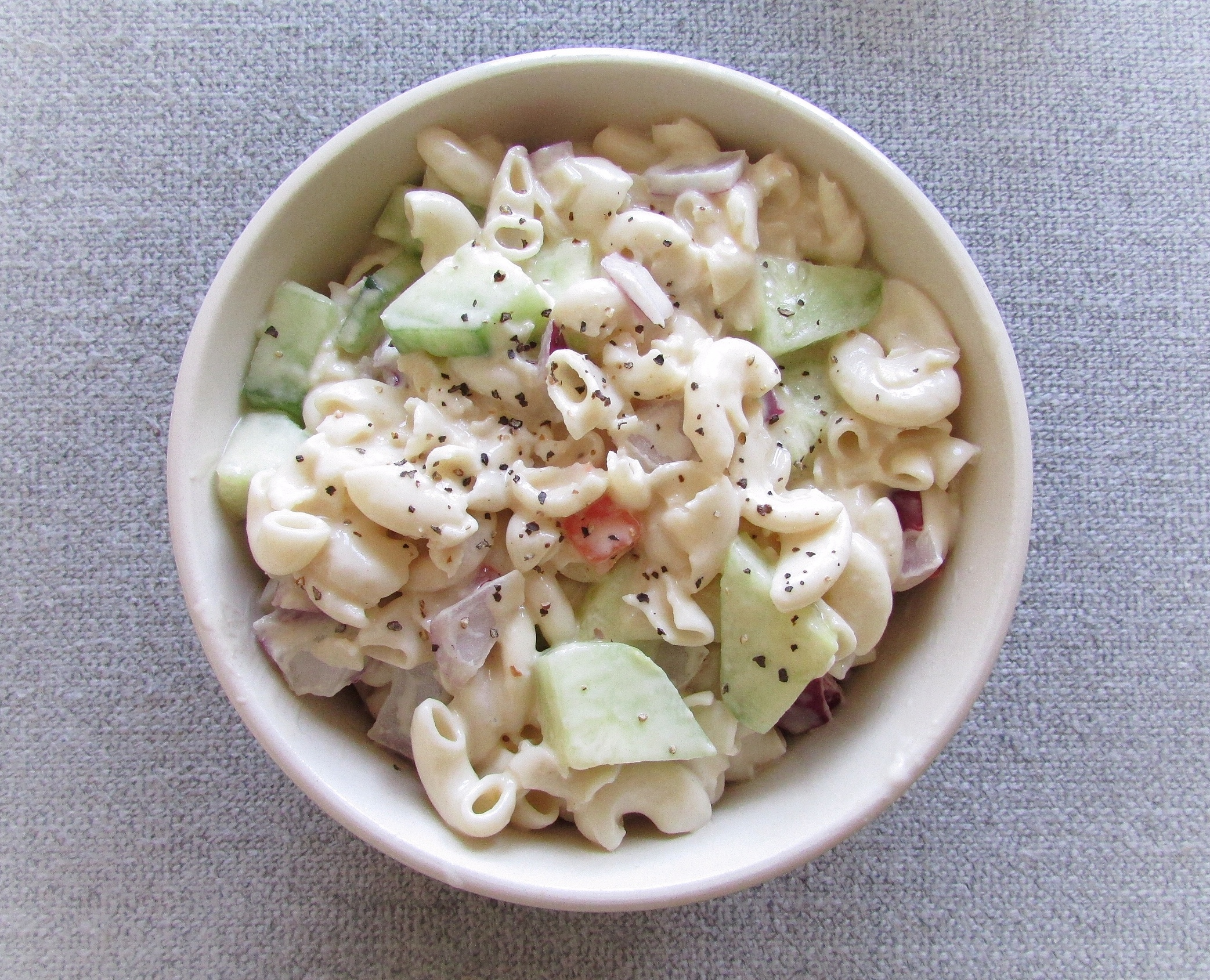 keto low carb pasta salad recipe