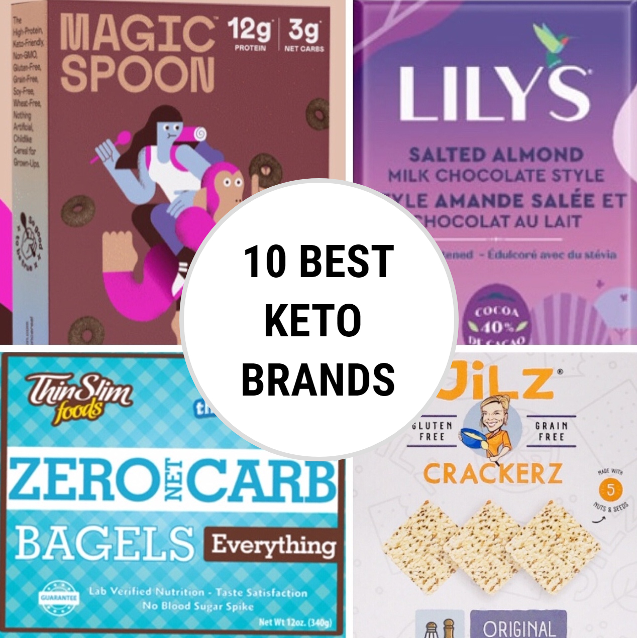 10 Best Keto-Friendly Brands